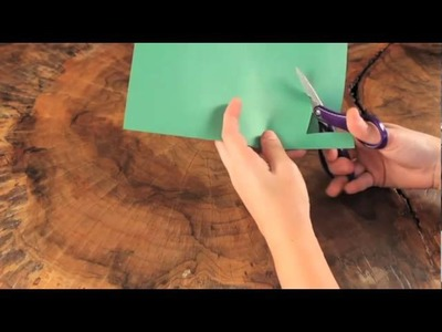 Craft Club's Tissue Paper Shamrock Craft Video