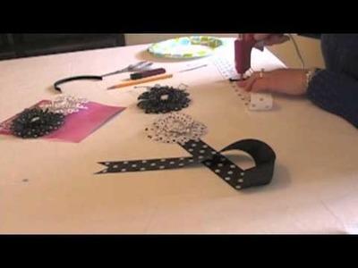 Craft Idea: Make A Hair Clip Organizer