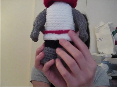 Crocheted Red Knight from Castle Crashers!!