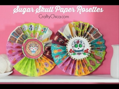 Day of the Dead Paper Rosettes