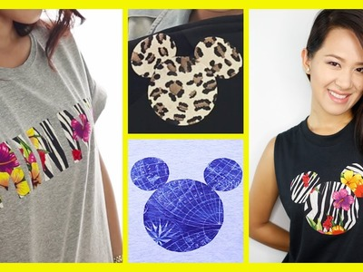 DIY A Mickey Mouse Inspired T-Shirt | An Anneorshine Disney Exclusive