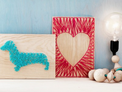 DIY by Panduro: Home Deco by Me, String Art