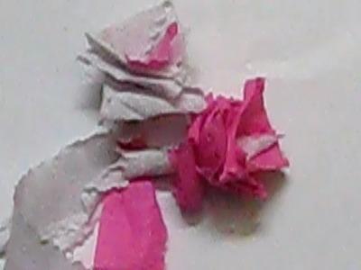 DIY - Easy Crepe Paper Roses