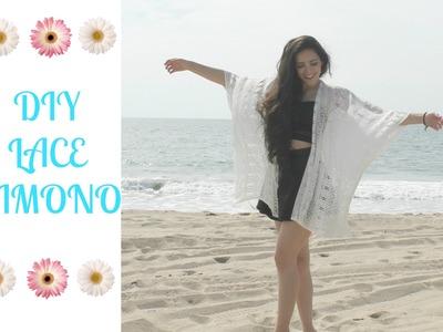 DIY Lace Kimono