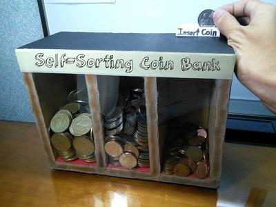 DIY Self-sorting Coin Bank