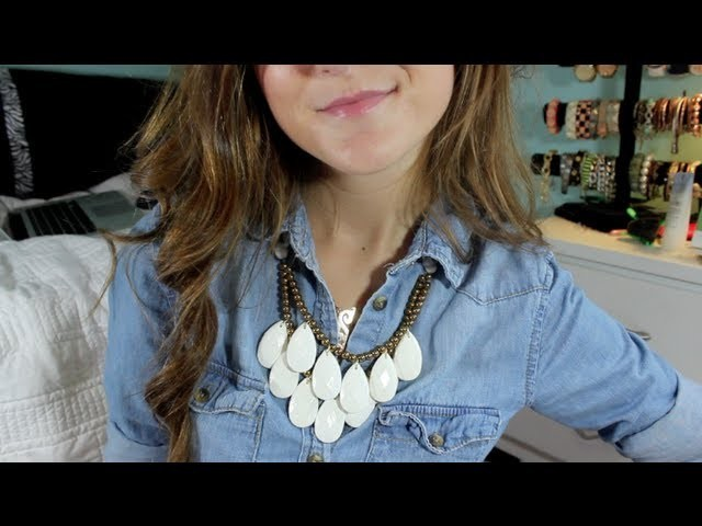 DIY: Statement Necklace