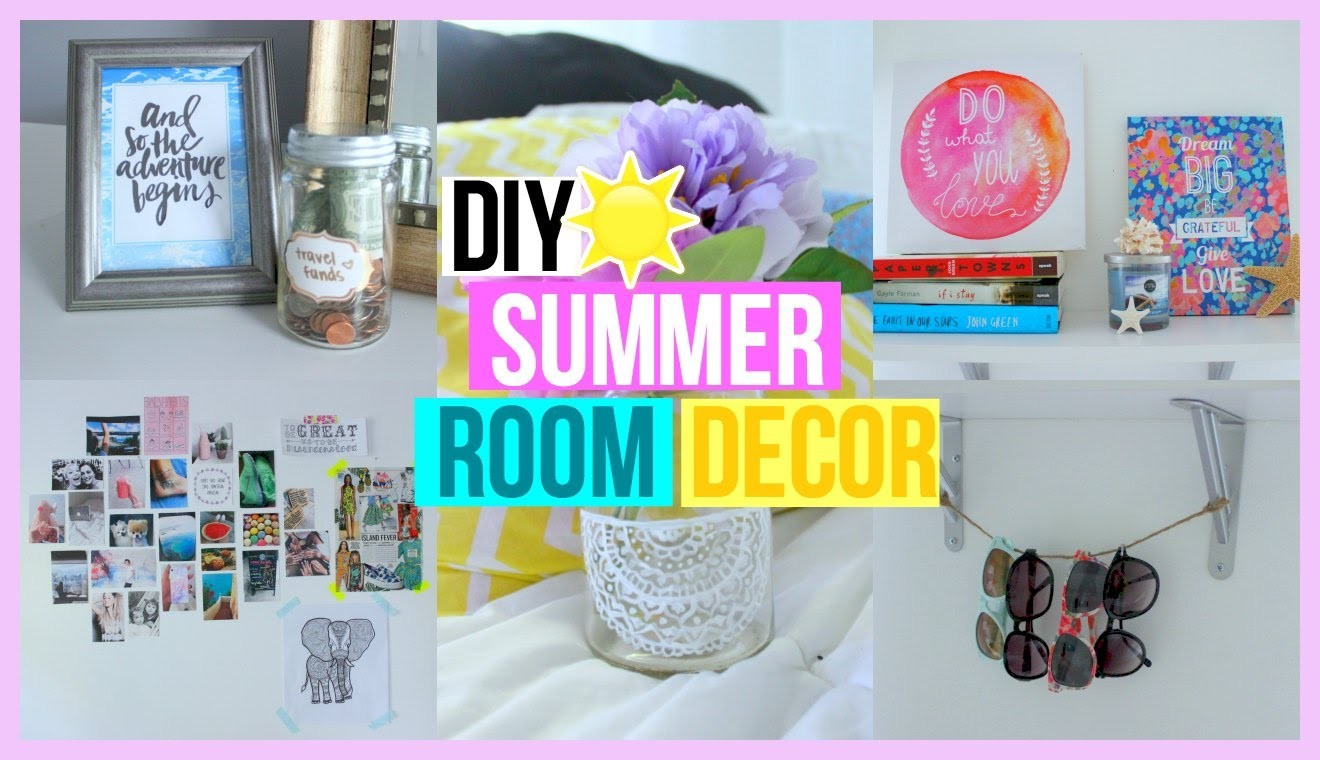 DIY Summer Room Decor!! | Reese Regan