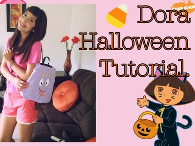 Dora the Explorer Halloween Tutorial (+DIY Dora Backpack & Map)