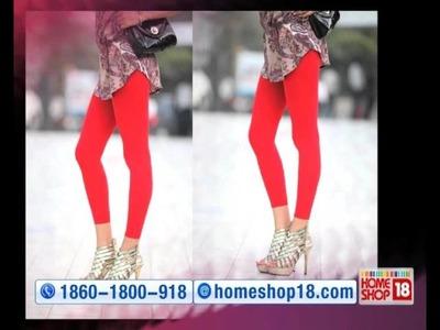 HomeShop18 : Pack of 3 Fashion Leggings by B.B.B