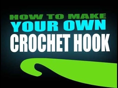 How to make a crochet hook (lucky clover carving lesson 3)