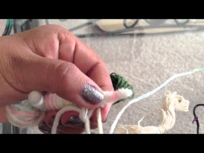 How to Make a Mermaid String Doll: Part 1