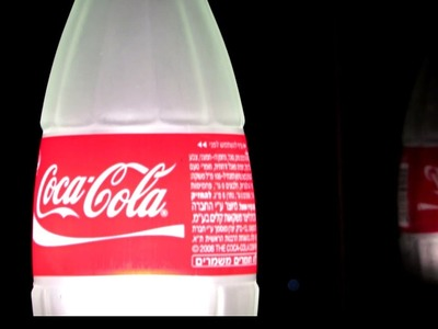 How To Make a Table Lamp from a Recycled COCA COLA Glass Bottle