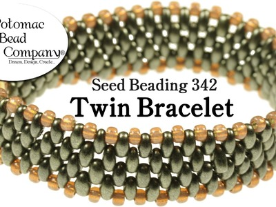 How to Make a Twin Bead Bracelet
