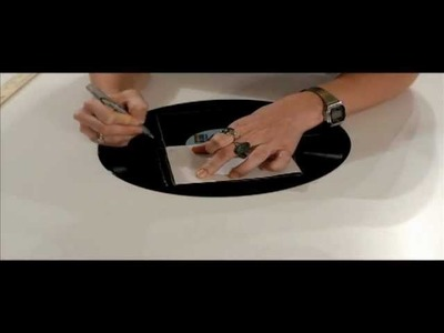 How to Make a Vinyl Record Notebook