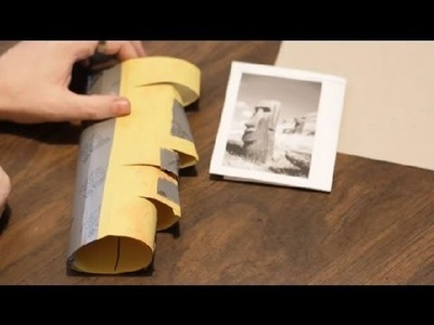 How to Make Paper Moai Statues : Paper Crafts