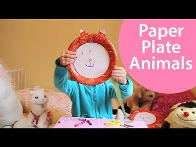 How to Make Paper Plate Animals - Craft Show for Kids
