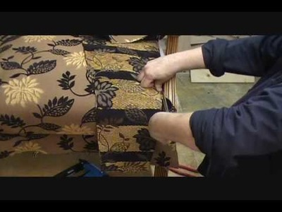 How to Upholster a Chair Seat Chapter 3 B