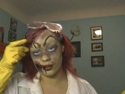 Mad Scientist: Easy DIY Halloween Costume