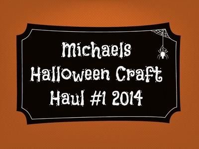 Michaels Halloween Craft Haul #5 2014