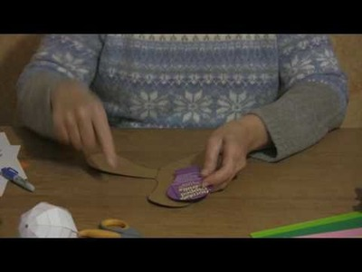 Origami & Paper Crafts : How to Make a Paper Boomerang