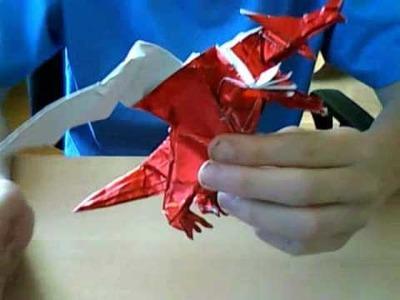 Origami dragon (Seiji Nishikawa ) not a tutorial