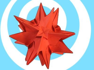Origami Kusudama Nina Instructions (6 units)