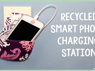 Recycled DIY Smart Phone Charging Station
