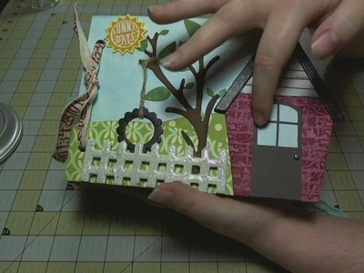 Scrapbook Mini Album: Sunny Days