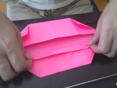 Simple Origami Box or Basket