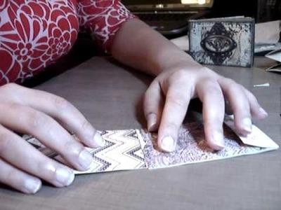 Tissue Tape Bound Envelope Mini Album Part 2