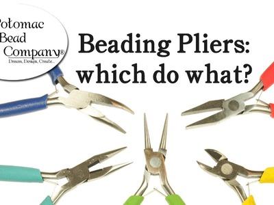 Types of Beading Pliers - Tutorial