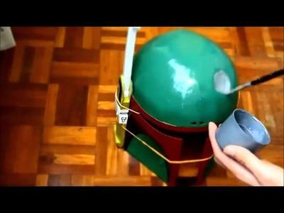 #4: Boba Fett Helmet DIY 4.4 - Detailing & Battle Damage - *re-upload