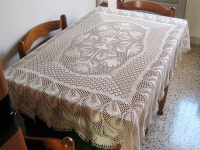 (7) Tableclothes Models Great Lace Designs Crochet Knitting New Trends