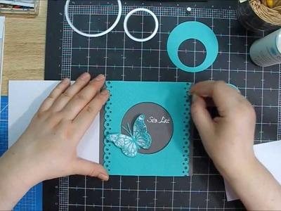 Birthday card - scrapbooking by Hoinka Crafts