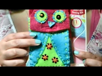Craft Wednesday: American Girl Crafts Tech Case Sewing Kit