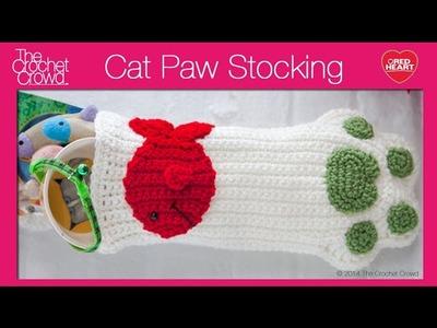 Crochet Cat Stocking