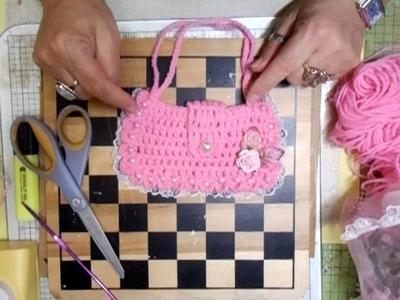 Crochet Purse.Bag - jennings644