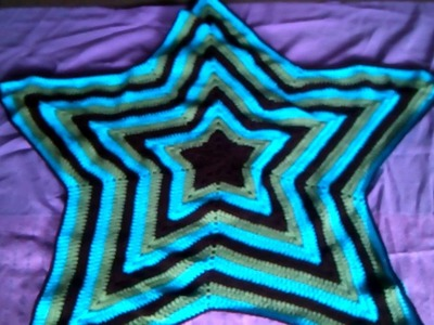 Crochet Star Baby Blanket