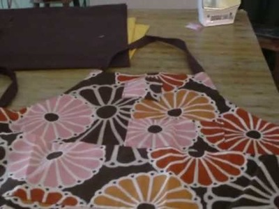 DIY Apron Pattern Following