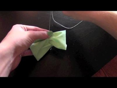 DIY Cute Hair Bows