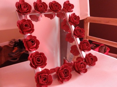 DIY Decor: Recycled Egg Carton into Roses.Flowers