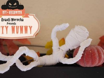 DIY Flexy Mummy. Momia flexible -  Halloween Decoration. Decoration