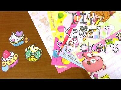 DIY Kawaii Stickers