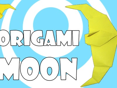 DIY: Simple Origami Moon Tutorial