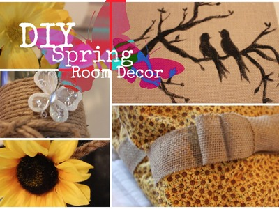 DIY Spring Rustic Room Decor!