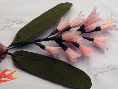 DIY Stocking Flower Bouquet  Hyacinth - JK Arts 113