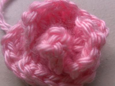 Easy Crochet rosebud