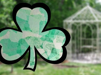Easy St Patrick's Day Craft: Shamrock