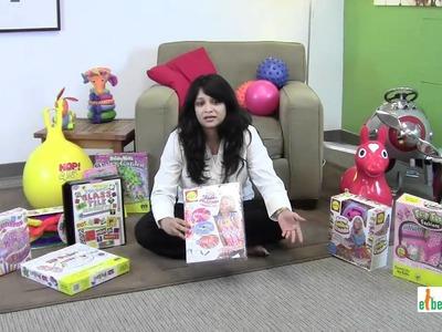 Ebeanstalk Child Development Video Arts & Crafts Sets