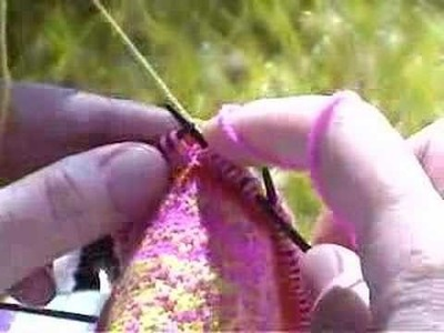 Fair Isle Knitting on double pointed needles